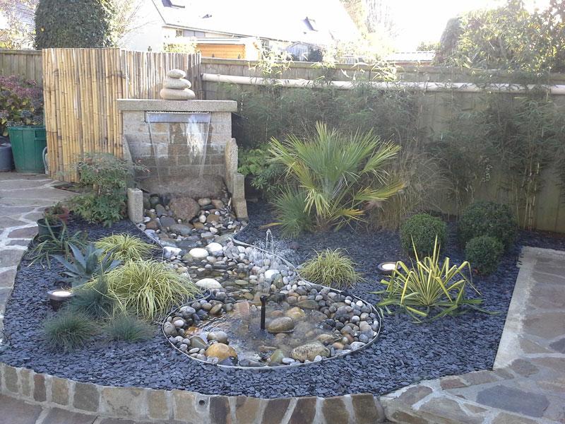 R alisation la fois zen et exotique d 39 un espace r duit for Realisation jardin zen